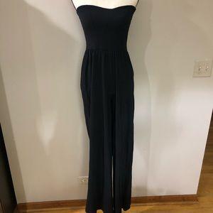 ASOS Black Strapless Jumpsuit